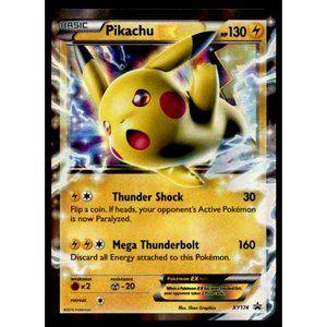 2016 Pokemon Card Promo Black Star Pikachu EX Mint